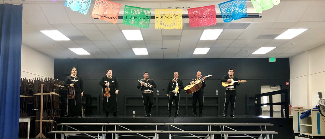 Live Mariachi Band to celebrate Hispanic Heritage Month!