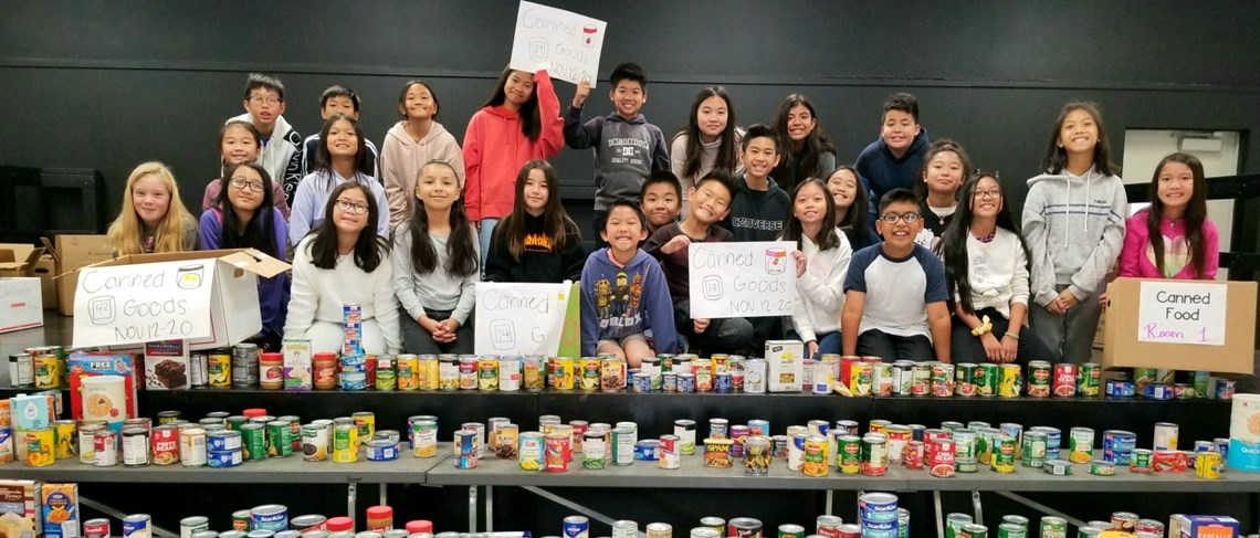 Morningside's Annual Canned Foor Drive!